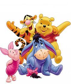 Winnie Pooh y sus amigos.