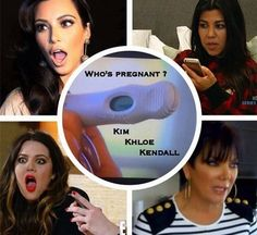 Khloe Kardashian Posts Positive Pregnancy Test: Who's Knocked Up? – Parental Information Center Kardashian Girls, Kourtney Kardashian, Kardashian Style, Kim Kardashiyan, K Dash, Pregnant With A Girl, Pregnancy Positions, Family Matters