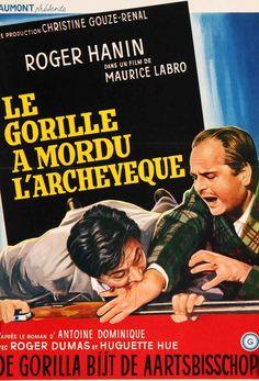 Bite of the Gorilla (1962) Original Belgian Movie Poster