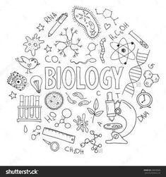 Resultado de imagem para biology coloring page