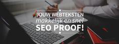 Zoekmachineoptimalisatie makkelijker toepassen voor je eigen webteksten en niet meer uitbesteden? Dat kan met webtexttool! Webtexttool geeft realtime advies voor zoekmachineoptimalisatie van webteksten. Onder meer in de vorm van keyword-suggesties en tips voor tekstopbouw. Dit resulteert in een betere vindbaarheid in Google en meer traffic naar de website. De tool is laagdrempelig en adviseert altijd...