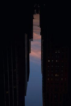Artist Peter Wegner, his Buildings Made of Sky series, which features 'skyscrapers' outlined by the New York City streets when you flip your perspective. Sky Photos, Space Photos, Cool Photos, Negative Space Photography, High Building, Building Photography, Multimedia Artist, New York, Photography