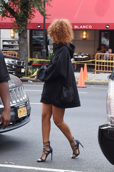 August 11: Rihanna out in New York