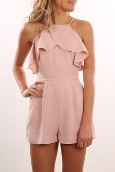 - Jumpsuits and Romper Cute Casual Outfits, Cute Summer Outfits, Outfits For Teens, Casual Dresses, Romper Outfit, Playsuit Romper, Jumpsuit Shorts, Designer Jumpsuits, Cute Rompers