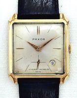 Paxor Herrenarmbanduhr Vintage 60 er Jahre
