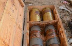 اخبار اليمن اليوم : شاهد بالصور.. العثور على اكبر مخزن اسلحة للقاعدة في حضرموت