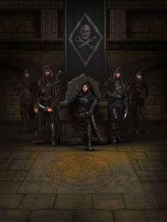 ArtStation - Thieves Guild, Igor Solovyev Rogue Assassin, Dark Fantasy, Fantasy Story, Fantasy Rpg, Medieval Fantasy, Fantasy Artwork, Fantasy World, Fantasy Characters, Dnd Characters
