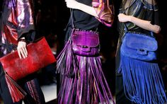 Gucci leather and suede handbags I NEEEEED the purple python one! NEED IT!