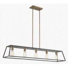 Hinkley Lighting 3335BZ Fulton - Five Light Linear Chandelier