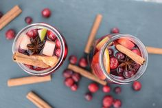 This showstopping holiday sangria is sure to be a hit at your party this winter! It has all the flavors of mulled wine, but is easier to serve and to sip on. Cheers!