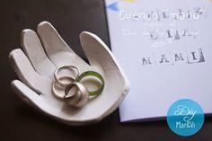 Regalos Día de la Madre, cuenco con la huella de la mano | Aprender manualidades es facilisimo.com