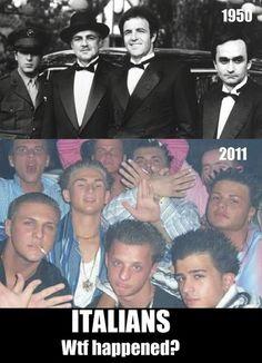 Italians ... what happened?