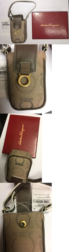 aa7a0f5a8a Bags Handbags and Cases 74962  Salvatore Ferragamo Monogram Vintage Mobile  Cell Phone Wrist Bag Very