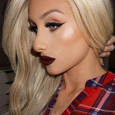 Stunning!!!  ❤️❤️❤️  @erikamariepapa... | Universo da Maquiagem