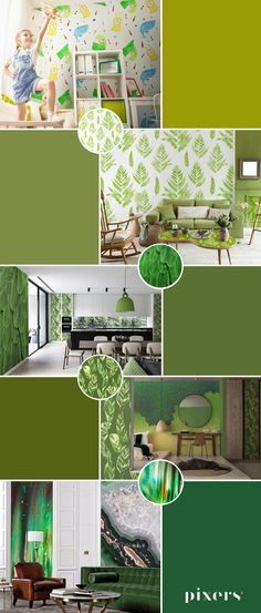 greenery Wall Murals ✓ Eco-Friendly ✓ Online Configuration ✓ We will help you choose a pattern!