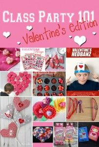 Class Party 101 � Valentine�s Edition Thursday,�  January 22, 2015 By Amy Hanks 1 Comment Class Party 101 � Valentine�s Edition