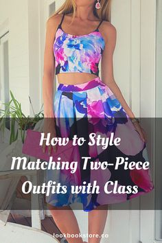 They're like two peas in a pod. One isn't complete without the other. | Lookbook Store Style Tips