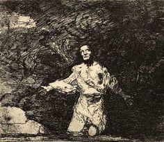 Francisco de Goya - Grabado de Los Desastres de la Guerra