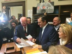 Ted Cruz is officially on the ballot in New Hampshire! #TedCruz2016