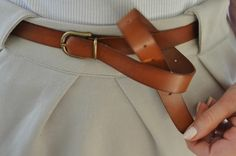 love this belted style