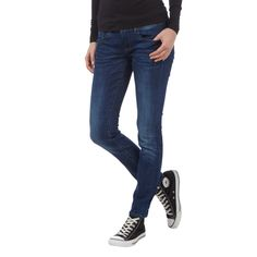 | #G-Star #Raw #Skinny #Fit #Jeans im #Stone #Washed-Look #für #Damen