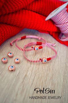 Μαρτακια Baba Marta, Rope Jewelry, Luanna, Micro Macrame, Dance Dresses, Handmade Jewelry, Crafts, Fashion, Diy Kid Jewelry