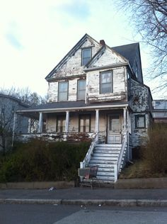 abandoned from many years in Revere, Massachusetts.