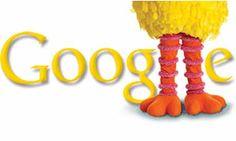 The Big Bird Google Doodle celebrates 40 years of Sesame Street