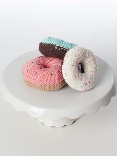Donuts! - Knitting Patterns - Patterns | Yarnspirations