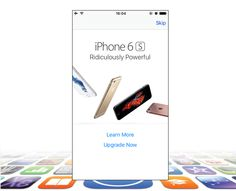 Apple advertising iPhone 6s to older iPhone owners through App Store popups