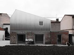 conversion house - wriggly tin cladding - Toulouse, France - BAST0