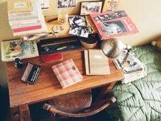 Anne's desk in the Secret Annex.