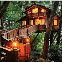 Dream home  #logcabin #forest #dreamhome #inlove #iwant #magical