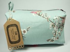 Bolsa de maquillaje grande caja / bolsa de viaje / por HannahRelf