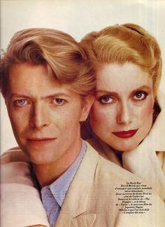 David Bowie & His Ladies