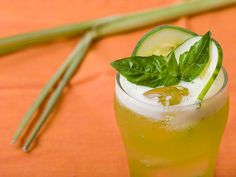 Thai flavors of basil and lemongrass combine with cooling cucumber in this mildly savory but totally drinkably tart lemonade variation.
