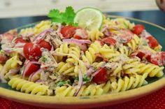 Salada de Macarrão com Sardinha | Massas > Receitas de Macarrão | Mais Você - Receitas Gshow