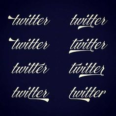 Beautiful Alternate Twitter Logo From The 1920′s By Ale Paul
