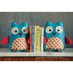 Skip Hop Owl Bookends for owl themed nursery or toddler room.