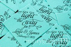 wedding sparkler date | ... - Wedding Favor Tags Script w. Names, Date - Sparklers Tiffany Blue