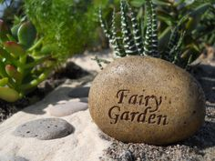 Fairy Garden Rock for every garden!    www.wholesalefairygardens.com