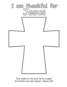 free printables templates | jesus died on the cross cutout craft ... - Coloring Pages Jesus Cross