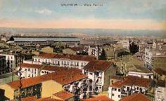 1.924 Vista de Valencia desde la Torre de San Valero, Ruzafa (Fototipia Castañeira)