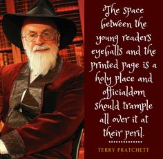 Farrago of Fandoms — terrypratchettappreciation:   A librarian gave me...