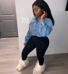 Ideas How To Wear Cute Outfits Casual Simple Boujee Outfits, Teenage Outfits, Cute Swag Outfits, Cute Winter Outfits, Girly Outfits, Casual Outfits, Baddies Outfits, Female Outfits, Lazy Outfits