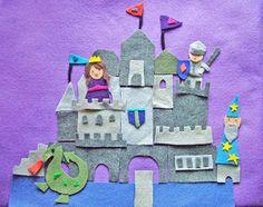 small world land: Felt Castle Play Mat