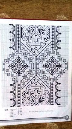 The world's catalog of creative ideas Cross Stitching, Cross Stitch Embroidery, Embroidery Patterns, Cross Stitch Patterns, Loom Beading, Knitting Needles, Blackwork, Needlepoint, Needlework