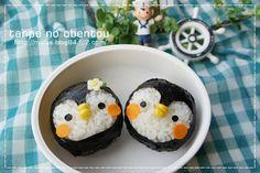 penguin onigiri