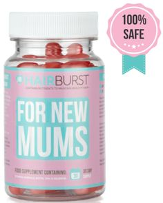 Get Healthy Hair By Starting Within #hairburst (& Giveaway Ends 5/12) - Mom and More