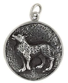 Sterling Silver Wolf Head Wolf Pendant Man Jewelry Animal jewelry Wolf SSP-1036  #Unbranded #Pendant